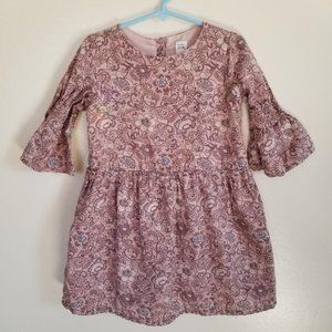 baby GAP girls 5 Paisley Dress
